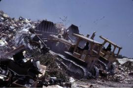 michael_carlebach_duelin_dozers_landfill