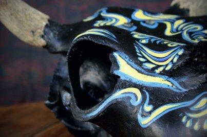 studiopollex_painted_cowskull