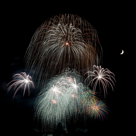 While fireworks dazzle spectators for mere minutes, the moon has enchanted life-forms for millennia. Hypothesized to be the relic of an ancient collision with a Protoplanet, the moon has been crucial in Earh's development.