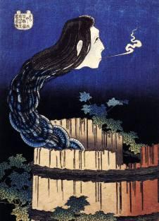 katsushika_hokusai_ghostwoman