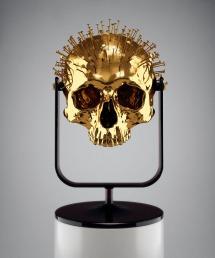 hedi_xandt_gold_skullspecimen