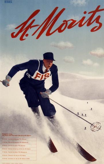 st_moritz_downhill_skier_vintage