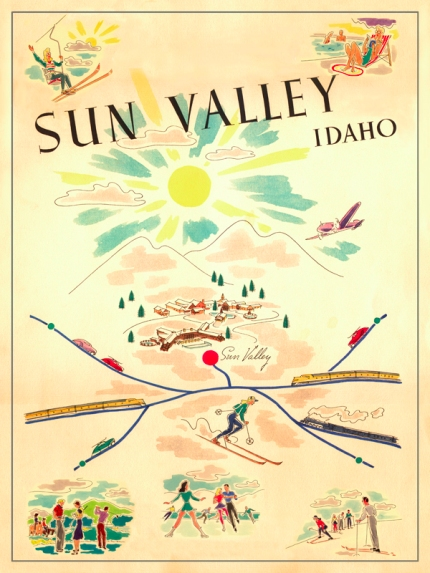 vintage_sun_valley_poster