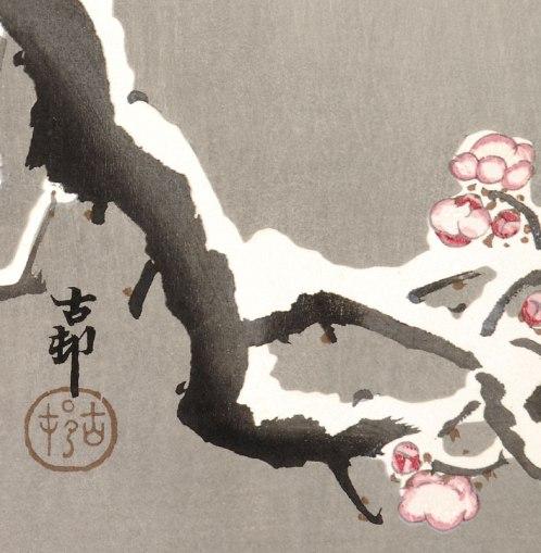 ohara_koson_snow_blossoms